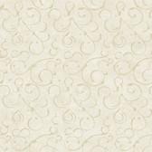 VIR98272 - Shin Silver Golden Scroll Texture Wallpaper