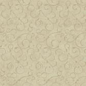 VIR98273 - Shin Bronze Golden Scroll Texture Wallpaper