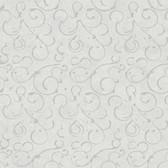 VIR98275 - Shin Pewter Golden Scroll Texture Wallpaper