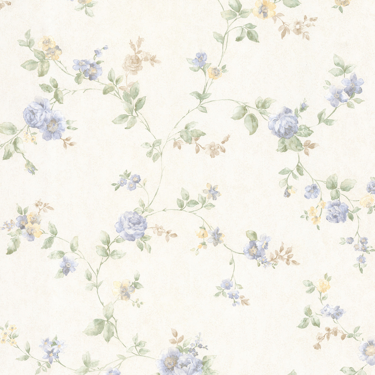 992 68331 Mary Light Blue Floral Vine Wallpaper Indoorwallpaper Com