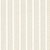 992-68367-Kendra Taupe Scrolling Stripe wallpaper