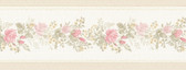 992B07574-Alexa Pink Floral Meadow Border wallpaper