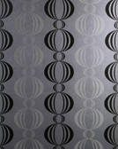 Verve Azhar Retro Orb Silver Wallpaper 59-54118