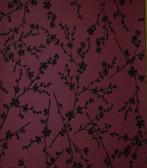 Verve Forsythia Twiggy Sangria Wallpaper 59-54160
