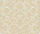Suzetta Embossed Jacobean Damask Linen Wallpaper 2537-M3903