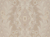 Cristoforo Ornamental Crewel Stripe Bone Wallpaper 2537-M3938