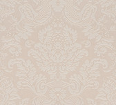 Agnese Embossed Damask Linen Wallpaper 2537-M3961