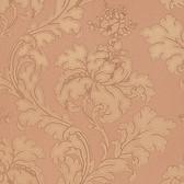 Vitale Embossed Leafy Scroll Cider Wallpaper 2537-M3966