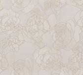 Sancia Linen Rosette Weave Mauve Wallpaper 2537-Z3611