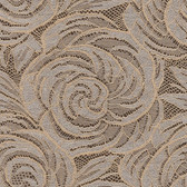 Mercede Lace Rosette Swirl Wine Wallpaper 2537-Z3711