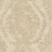 EK4108 - Ronald Redding 18 Karat II Charleston Pearlescent Brown Wallpaper
