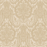 EK4126 - Ronald Redding 18 Karat II Laurens Suede Brown Wallpaper