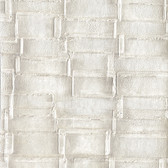 EK4134 - Ronald Redding 18 Karat II Dimity Pearlescent White Wallpaper