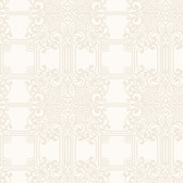 EK4142 - Ronald Redding 18 Karat II The Plaza White/Taupe Wallpaper