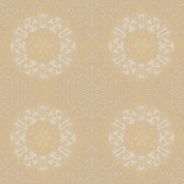 EK4245 - Ronald Redding 18 Karat II Reverie Chalfont Brown-Cream Wallpaper