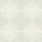 EK4246 - Ronald Redding Reverie Chalfont Pearlescent White Wallpaper