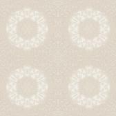 EK4247 - Ronald Redding 18 Karat II Reverie Chalfont Taupe-White Wallpaper