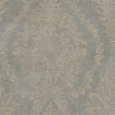 PM9309 - Ronald Redding 18 Karat II Charleston Metallic Silver Wallpaper