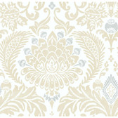BLOOMSBURY (DAMASK) RRD0730 WALLPAPER