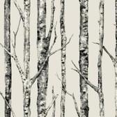 Urban Retreat The Birches Linen Wallpaper LL4759