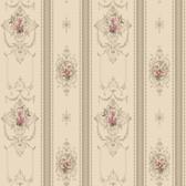120th anniversary AV2812 DELICATE ROSE STRIPE wallpaper