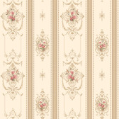 120th anniversary AV2813 DELICATE ROSE STRIPE wallpaper