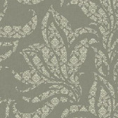 Silver Leaf II Catalina Ash Wallpaper SL5690