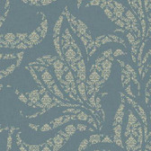 Silver Leaf II Catalina Aegean Wallpaper SL5691