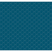 Silver Leaf II Metro Retro Emerald Wallpaper RRD0890
