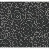 Sculptured Surfaces II Chloe Ebony Wallpaper SS2218