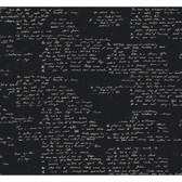 Sculptured Surfaces III Manuscript Black Wallpaper RX6698