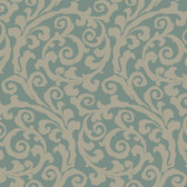 Sculptured Surfaces Calabash Ocean Wallpaper RD3521