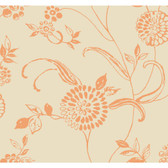 Sculptured Surfaces Fontaine Coral Wallpaper RD3539
