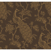 Sculptured Surfaces Carolina Umber Wallpaper RD3555