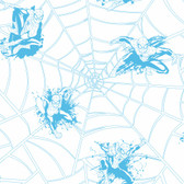 ZB3271 Boys Will Be Boys Spiderman Web Wallpaper