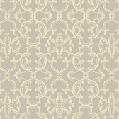 Sculptured Surfaces Crowning sheild Raised Prints Dove Wallpaper RD3596