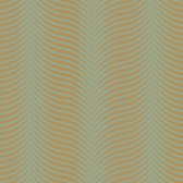 Natural Instincts Herringbone Gold-Sage Wallpaper RH2643NT