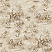 Houndstooth Saratoga Oyster Wallpaper ML1208