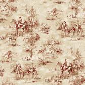 Houndstooth Saratoga Tan Wallpaper ML1210