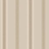 Houndstooth Oxford Stripe Latte-Sand Wallpaper ML1256