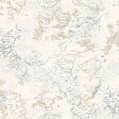 Houndstooth Navigator Cream Wallpaper ML1333