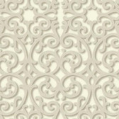 TD4726 Dimensional Effects Fortuna Cream Wallpaper