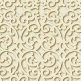 TD4728 Dimensional Effects Fortuna Beige Wallpaper
