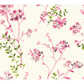 Watercolors WT4534 SOFT BLOSSOMS  Wallpaper