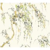 Watercolors WT4560 LOVEBIRDS  Wallpaper