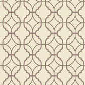 Watercolors Lattice Tan Wallpaper WT4618