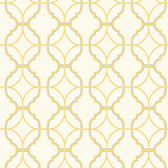 Watercolors Lattice Lime Wallpaper WT4620