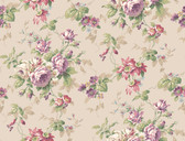Callaway Cottage CT0804 Rose Floral Trail Wallpaper