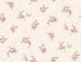 Callaway Cottage CT0810 Full Floral Scroll Wallpaper