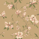 Callaway Cottage CT0829 Magnolia Branch Wallpaper